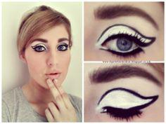 @Rimmel Livera Livera Livera London #RetroGlam inspired makeup #rimmel #retromania #60s #1960makeup