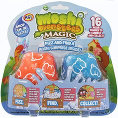 Moshi Monsters Magic Fizz Surprise 2 Pack  £8.99