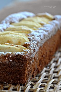 Gluten - free and lactose - free apple plumcake Procedim .- Plumcake alle mele senza glutine e senza lattosio Gluten Free Deserts, Gluten Free Sweets, Gluten Free Cakes, Foods With Gluten, Gluten Free Baking, Dairy Free Recipes, Vegan Gluten Free, Sweets Recipes, Cooking Recipes