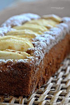 Plumcake alle mele senza glutine e senza lattosio @vicaincucina