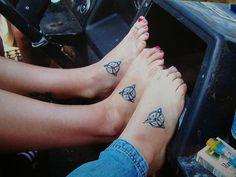 3 girls Foot Tattoo H A M (...