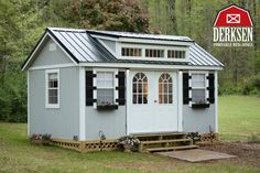 She Sheds, Cottages, Cabins, Storage Buildings and more. We've got you covered. No credit check lease to own financing with low monthly payments. Quality built products with free delivery anywhere in Oklahoma. Give us a look. Always Hassle-Free Quotes. Portable Buildings done right.