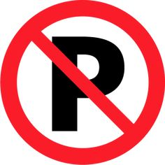 6 禁止 Prohibition 駐車禁止 No parking