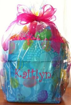 Thirty-One's Mini Utility Bin...makes an awesome, personalized Easter Basket!  Only $8 this month with every $31 spent!