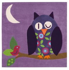 owl rug :-)