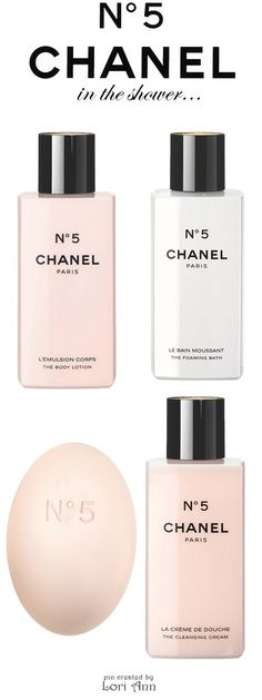 Chanel N°5 - Body Lotion, Foaming Bath, Bar Soap, Cleansing Cream