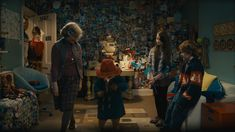 pictures from inside the paddington bear movie house - Google Search