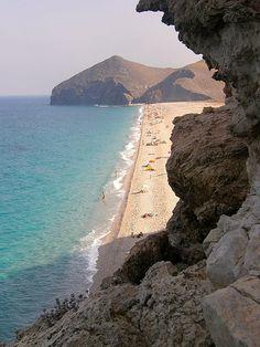 La playa de los Muertos, en Almería  Spain