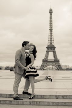 Paris engagement by Julianne Berry Photography