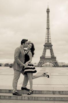 Paris engagement by Julianne Berry Photography