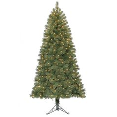 Pre-Lit Corner Christmas Tree Ideal for Smaller Rooms