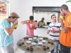 Kaffee-Cupping
