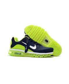 new concept e32ae b58d2 Nike Air Max 2017 Mens Black Green Shoes Dark Blue Green, Green Shoes, Nike