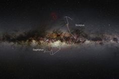 Wide-field view of the Milky Way, showing the extent of a new VISTA gigapixel image