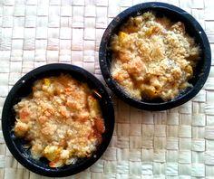 Peach crumble #foodblog #polishgirl #dessert #crumble #peach #food