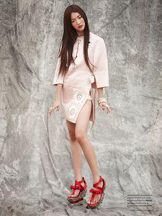 Varitsara Yu Is Untamed Beauty for L'Officiel Thailand