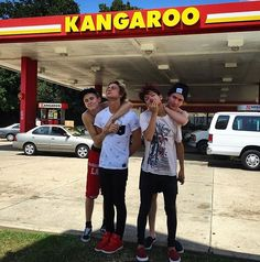 Don't step on my kangaroo's