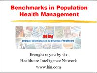 This presentation contains actionable data from successful population health management programs. It includes features of the programs, ways to measure population health, how to manage the health of dual eligibles, and more.