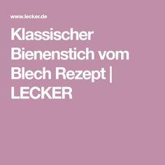 Klassischer Bienenstich vom Blech Rezept | LECKER