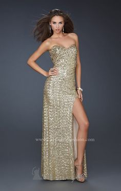 La Femme 15987 Dress - MissesDressy.com
