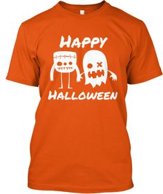 Cute #HappyHalloween #shirt only availible for 9 more days!  #monsters #halloween #friends