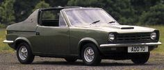 http://chicerman.com  carsthatnevermadeit:  Mini ADO70 1970 by Michelotti. A prototype for a targa-topped Mini-based sports car which was originally conceived byHarry Webster at BLMC and styled byPaul Hughes before being handed to Michelotti who modified Hughes design and built the prototype at their Turin studios. A lack of funds and interest in the project meant ADO70 went no further  source  #cars