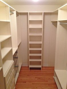Walk-in Closet - After - traditional - closet - toronto - Tailored Living of Richmond Hill