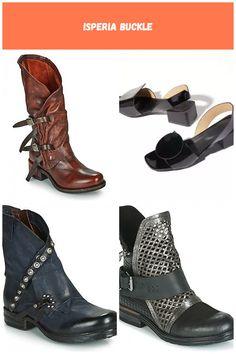C'est l'hiver : honneur aux bottes ! Et en la matière, les marques sont unanimes : elles sont in-di-spen-sa-bles ! Airstep / A.S.98 répond présente avec la Isperia Buckle. Sa tige en cuir bovin participe à son allure et à l'esprit qui en émane. Sa semelle intérieure est en cuir et sa semelle extérieure en synthétique. Un modèle qui nous suivra partout. - Couleur : Rouge - Chaussures Femme 329,00 € chaussures femme Cuir Isperia buckle