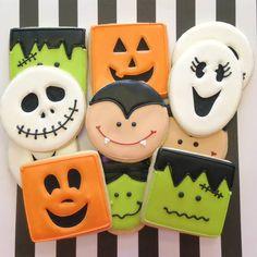 Halloween cookies (halloween cookie ideas)