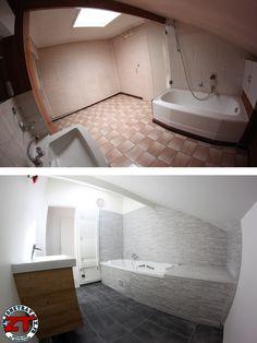 Aménagement de la salle de bain des enfants