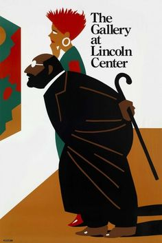 The Gallery at Lincoln Center, poster by Milton Glaser, $100