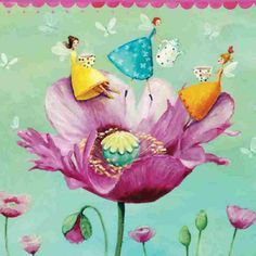 Square card folded by Mila Marquis van MarquisWonderland op Etsy Arte Elemental, Lulu Shop, Birthday Cards, Happy Birthday, Birthday Message, Art Birthday, Art Carte, Paint And Sip, Square Card