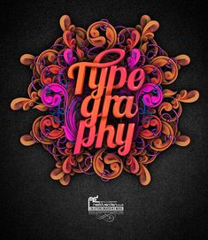 Creative Typography Design | Read full article: http://webneel.com/webneel/blog/35-creative-and-beautiful-typography-master-pieces-your-inspiration
