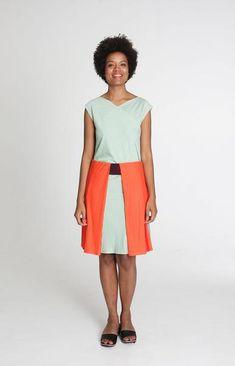 Love Skirt Tricolour