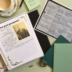 How to Organize Your Family History Documents #homehistorian #familyhistory #ancestry