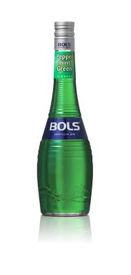 BOLS Peppermint Green - Centuries of tradition AKA #CrèmedeMenthe Pure minty flavour perfect for a #Grasshopper #cocktail