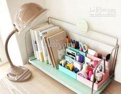New DIY Paper Board Storage Box Desk Decor Stationery Makeup Cosmetic Organizer Diy Box Organizer, Desk Organization Diy, Diy Desk, Organizing, Paper Storage, Diy Storage, Storage Boxes, Storage Ideas, Ideas Para Organizar
