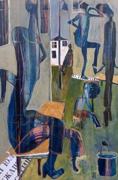 "Saatchi Art Artist ILYA Volykhine; Painting, ""Culture of the Street, 2015"" #art"
