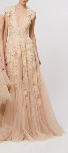 I want to be invited somewhere where I could wear this beautiful dress.