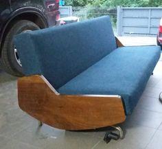 kanapa znaleziona na wysypisku / Janusz Różański T.458 / polski design