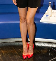 The Hottest Legs in History  Leg Love This tennis star's long stems allow her to hustle on the court.