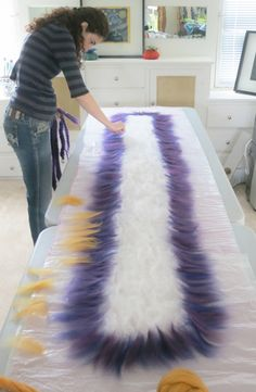 How to Make a #Ruffle Scarf | Felt Evolution TUTORIAL DE BUFANDA