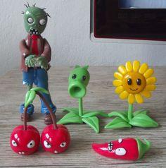 Plants vs Zombies em biscuit