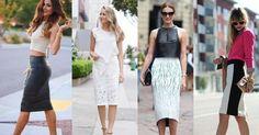 4 geniales formas de llevar una falda midi, con o sin vuelo, ¡apunta!