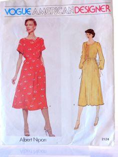 Vogue American Designer Albert #Nipon 2124 Size 10, makes a lovely dress by CandyAppleCrafts, $10.00