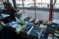 Books from @BlogOntario 's Ontario Book Blogger Meet-Up in Nov 2012