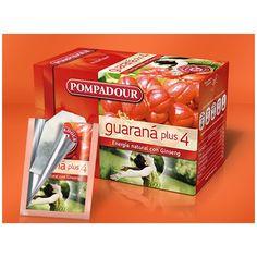 Guaraná Plus Pompadour. Tes e infusiones, energía natural con ginseng. Disfrute de todas las ventajas de comprar en nuestra tienda online Food, Healthy Life, Store, Meals, Yemek, Eten