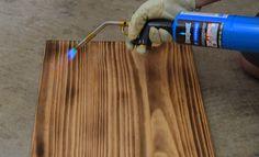 AZ DIY Guy's Projects: DIY Lap Desk with Burned Wood Finish