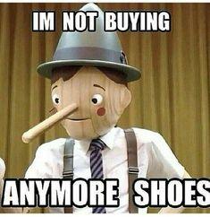 Oh Pinocchio ...