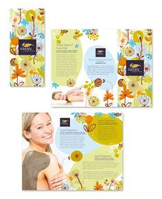 Day Spa & Beauty Salon Tri Fold Brochure Template http://www.dlayouts.com/template/739/day-spa-beauty-salon-tri-fold-brochure-template  More Downloads. Less Cost! Save money by registering on longer periods!